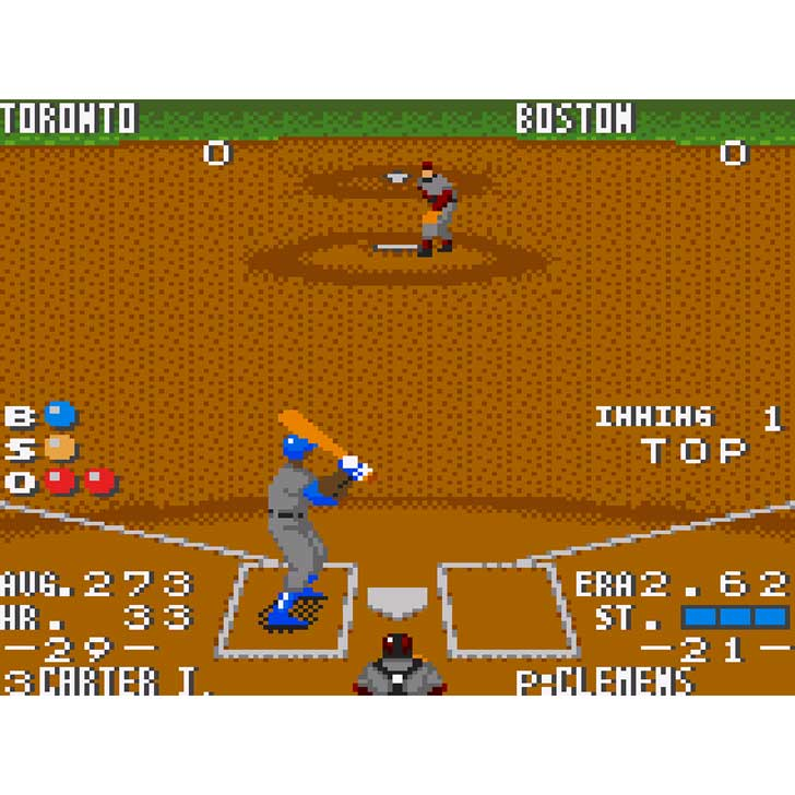 The Majors Pro Baseball screenshot