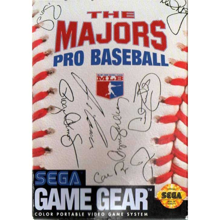 The Majors Pro Baseball for Sega Game Gear
