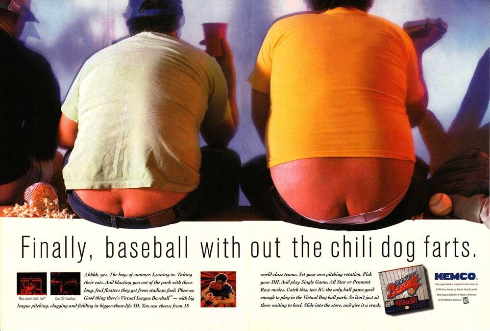 Virtual League Baseball – Print Advertisement