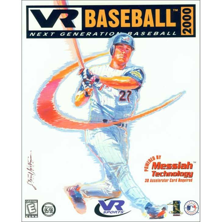 VR Baseball 2000 featuring Darin Erstad