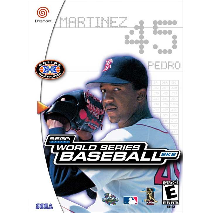 World Series Baseball 2K2 featuring Pedro Martinez