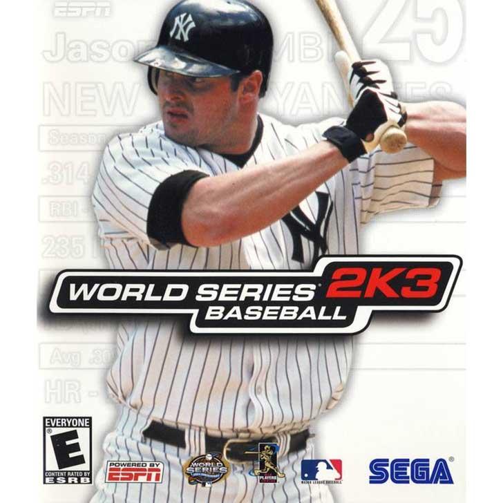 World Series Baseball 2K3 featuring Jason Giambi