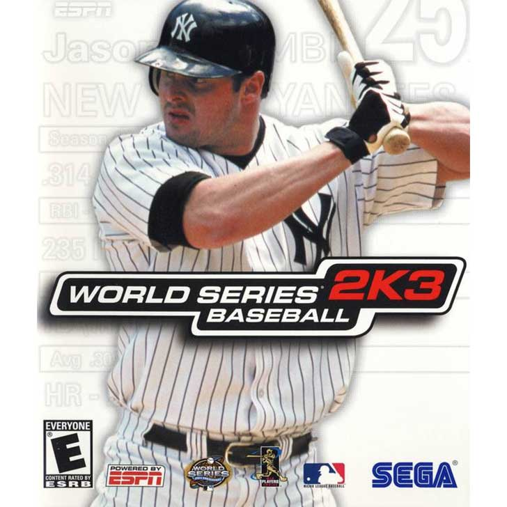 World Series Baseball 2K3 featuring Jason Giambi