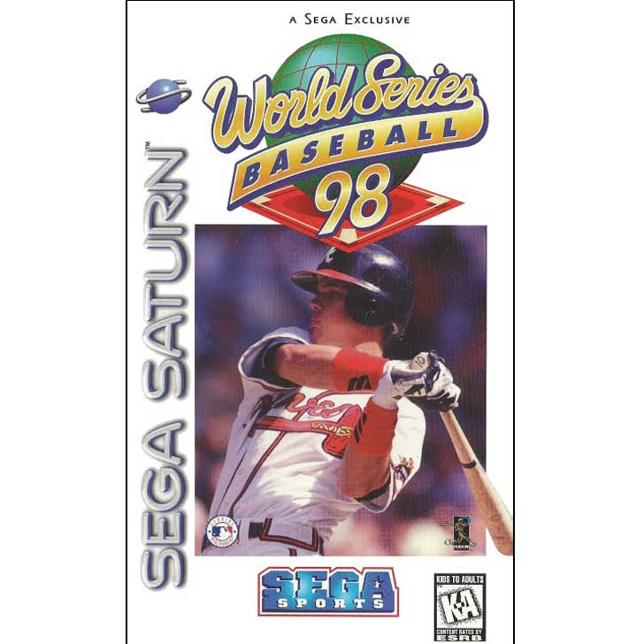 World Series Baseball '98 featuring Chipper Jones