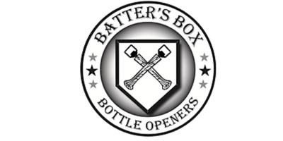 Batter's Box Bottle Openers
