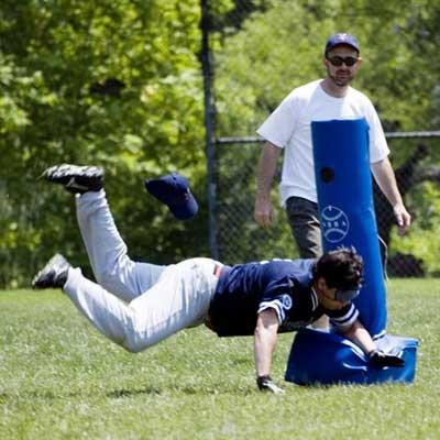 Beep Baseball: Joe Q is SAFE