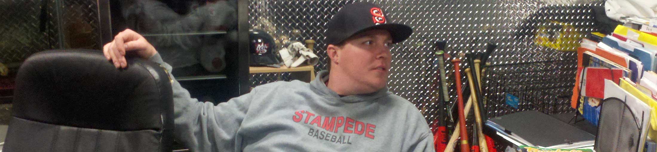 Jonathan Pollard, New England Stampede - header