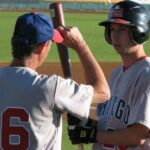 Steve & Dave Joseph playing baseball