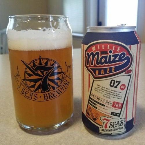 Willie Maize Haze - 7 Seas Brewing