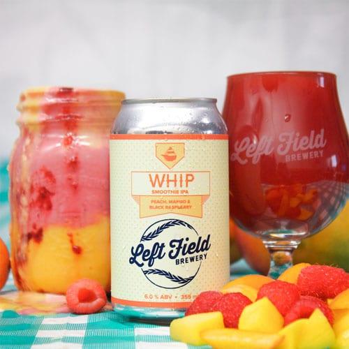WHIP Peach Mango - Left Field Brewery