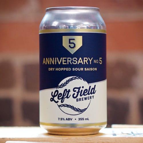 Anniversary No. 5 - Left Field Brewery