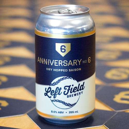 Anniversary No. 6 - Left Field Brewery