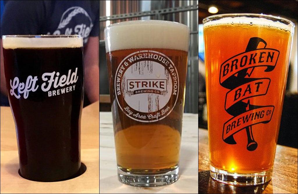 Baseball Beer Line-up