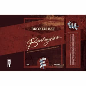 Brandy BA Barleywine - Broken Bat Brewing Co.