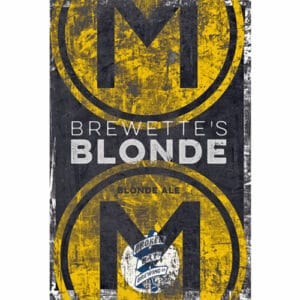 Brewette's Blonde - Broken Bat Brewing Co.