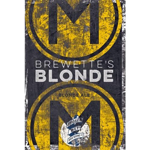 Brewette's Blonde - Broken Bat Brewing Co.