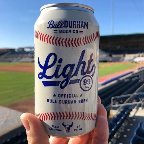 Amber Lager - Durham Bulls Beer Co