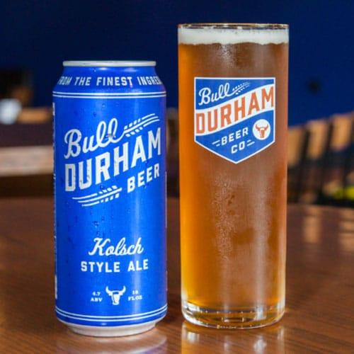 Lollygagger Kolsch - Durham Bulls Beer Co