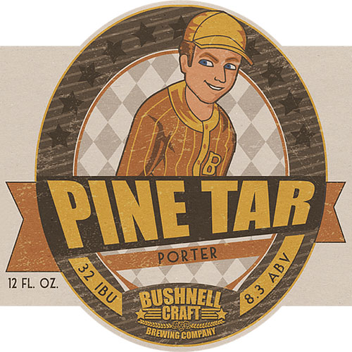 Pine Tar Porter - Bushnell Craft Brewing Company