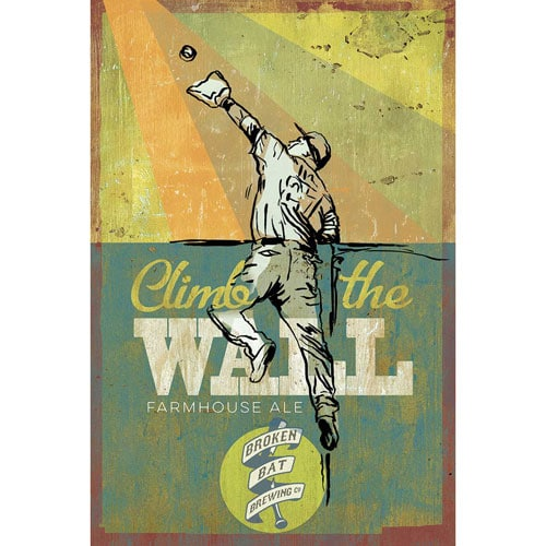 Climb the Wall - Broken Bat Brewing Co.
