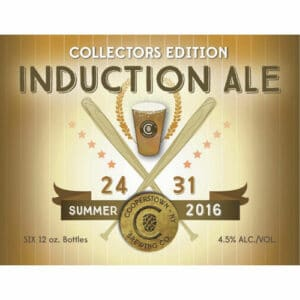 Cooperstown Brewing Co. – Induction Ale, 2016