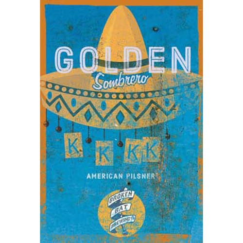 Golden Sombrero - Broken Bat Brewing Co.