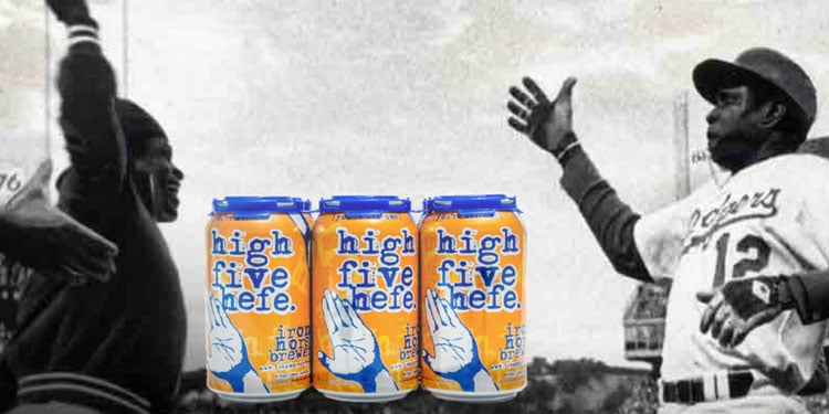 High Five Hefe was Invented by Dusty Baker and Glenn Burke