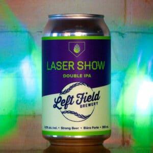 Laser Show - Left Field Brewery