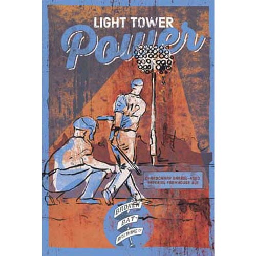Light Tower Power - Broken Bat Brewing Co.