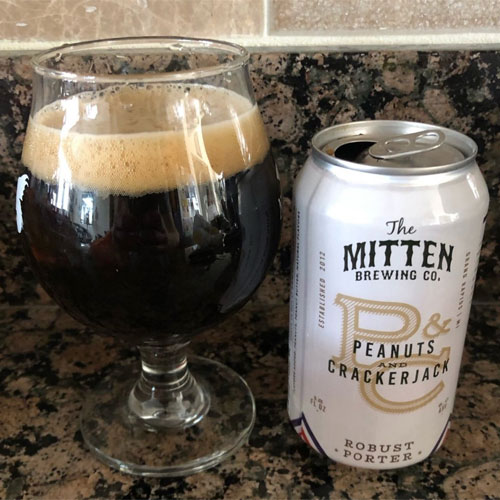 Peanuts & Crackerjack- The Mitten Brewing Co.