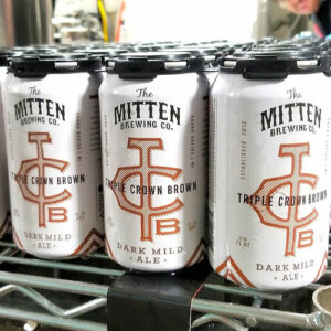 Triple Crown Brown - The Mitten Brewing Co.