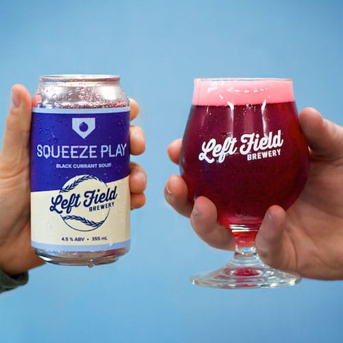 Squeeze Play Black Currant - Left Field Brewery