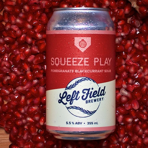 Squeeze Play Pomegranate - Left Field Brewery