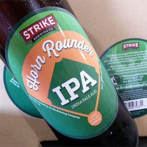 Horn Rounder - Strike Brewing Co.