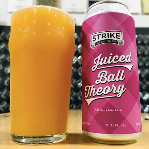 Juiced Ball Theory - Strike Brewing Co.