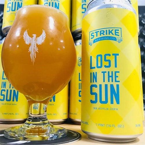 Lost in the Sun - Strike Brewing Co.