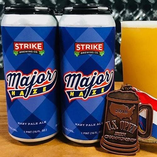 Major Haze - Strike Brewing Co.