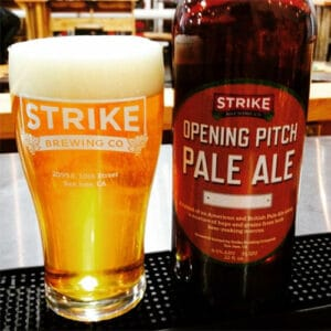 Opening Pitch - Strike Brewing Co.