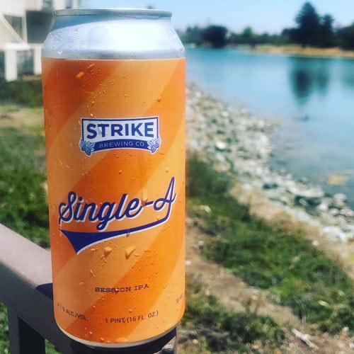Single-A - Strike Brewing Co.