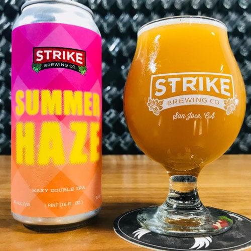Summer Haze - Strike Brewing Co.
