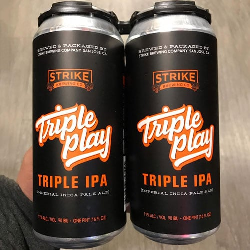 Triple Play - Strike Brewing Co.