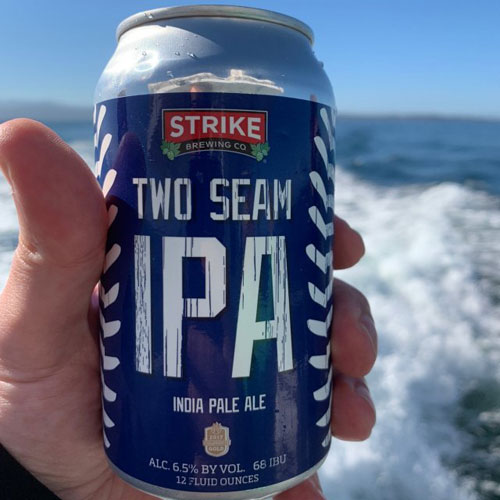 Two Seam IPA - Strike Brewing Co.