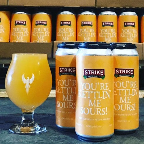 You're Kettlin' Me Sours - Strike Brewing Co.