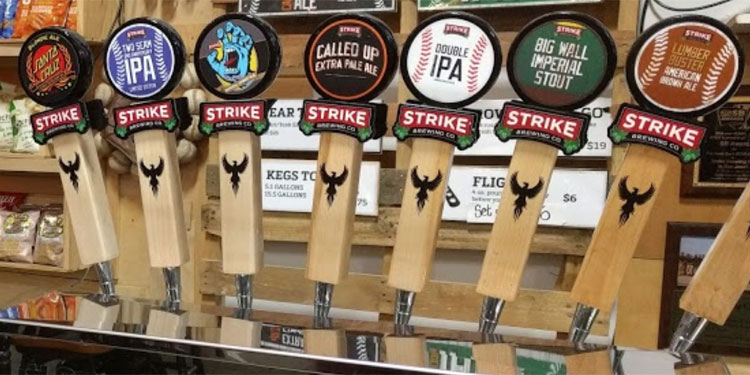 Strike Brewing Co. taproom