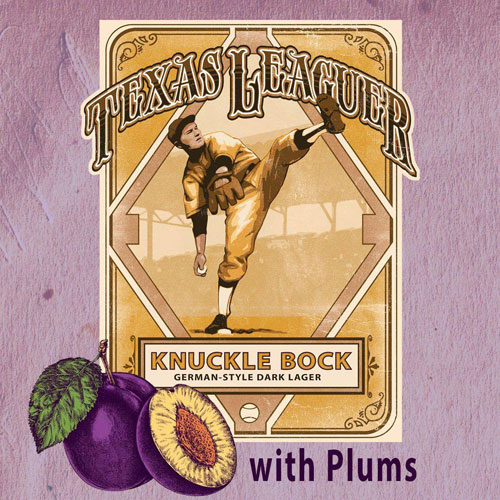 Knuckle Bock - Texas Leaguer Brewing