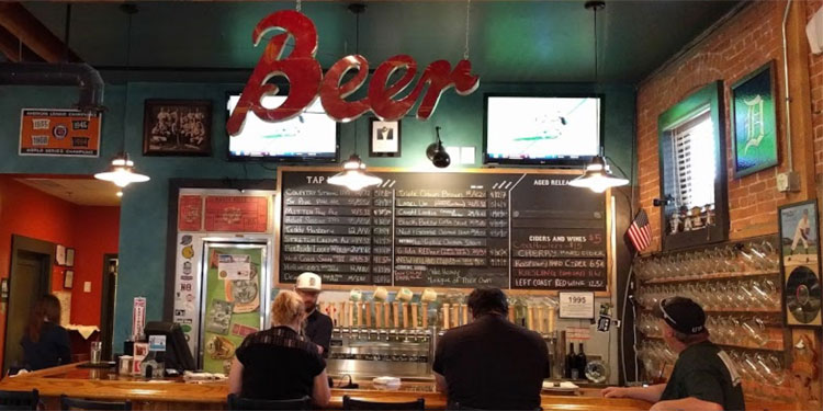 The Mitten Brewing Co. taproom