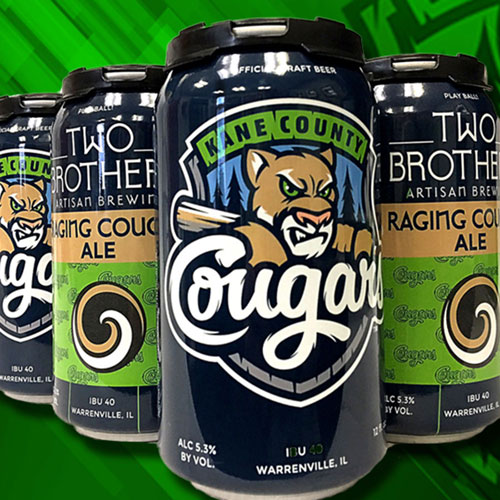 Raging Cougar Ale - Two Brothers Brewing