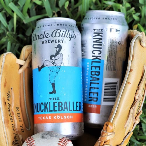 The Knuckleballer - Uncle Billy's Brewery