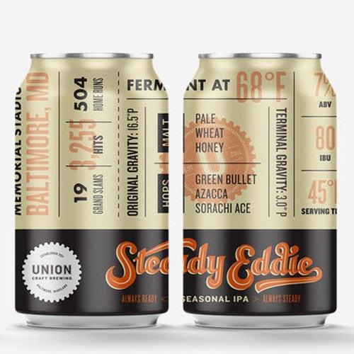 Steady Eddie - Union Craft Brewing