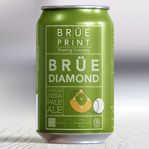 Brue Diamond IPA – Brue Print Brewing Company